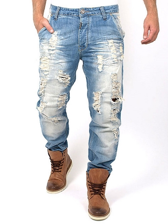 Adrian Hammond - Denver Casted Bright Jeans - Casted Bright - W30